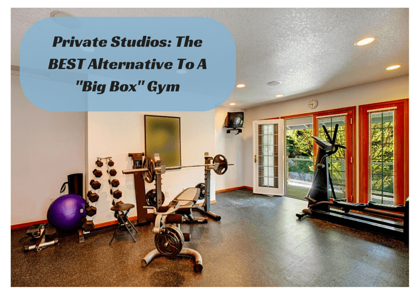 """Best Alternative To A """"Big Box"""" Gym: Training Clients In A Private Studio"""